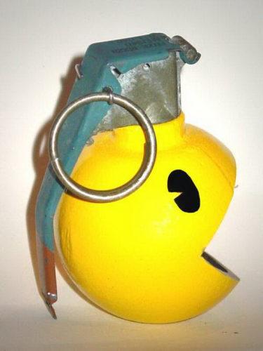 Pac-man-granata